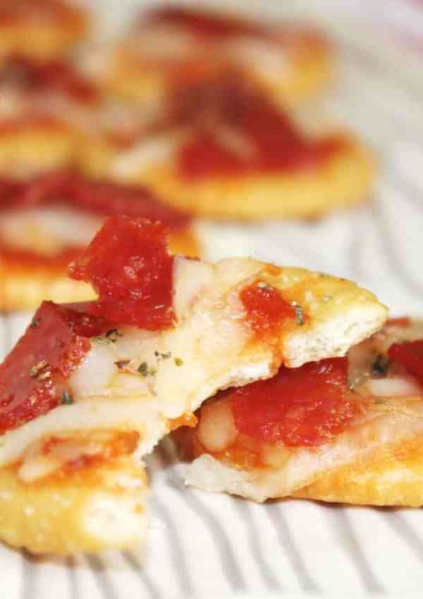 Ritz Pizza Crackers or Make Them Gluten Free Glutino Pizza Crackers!