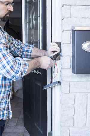 Installing the NuTone KNOCK Smart Video Doorbell Camera