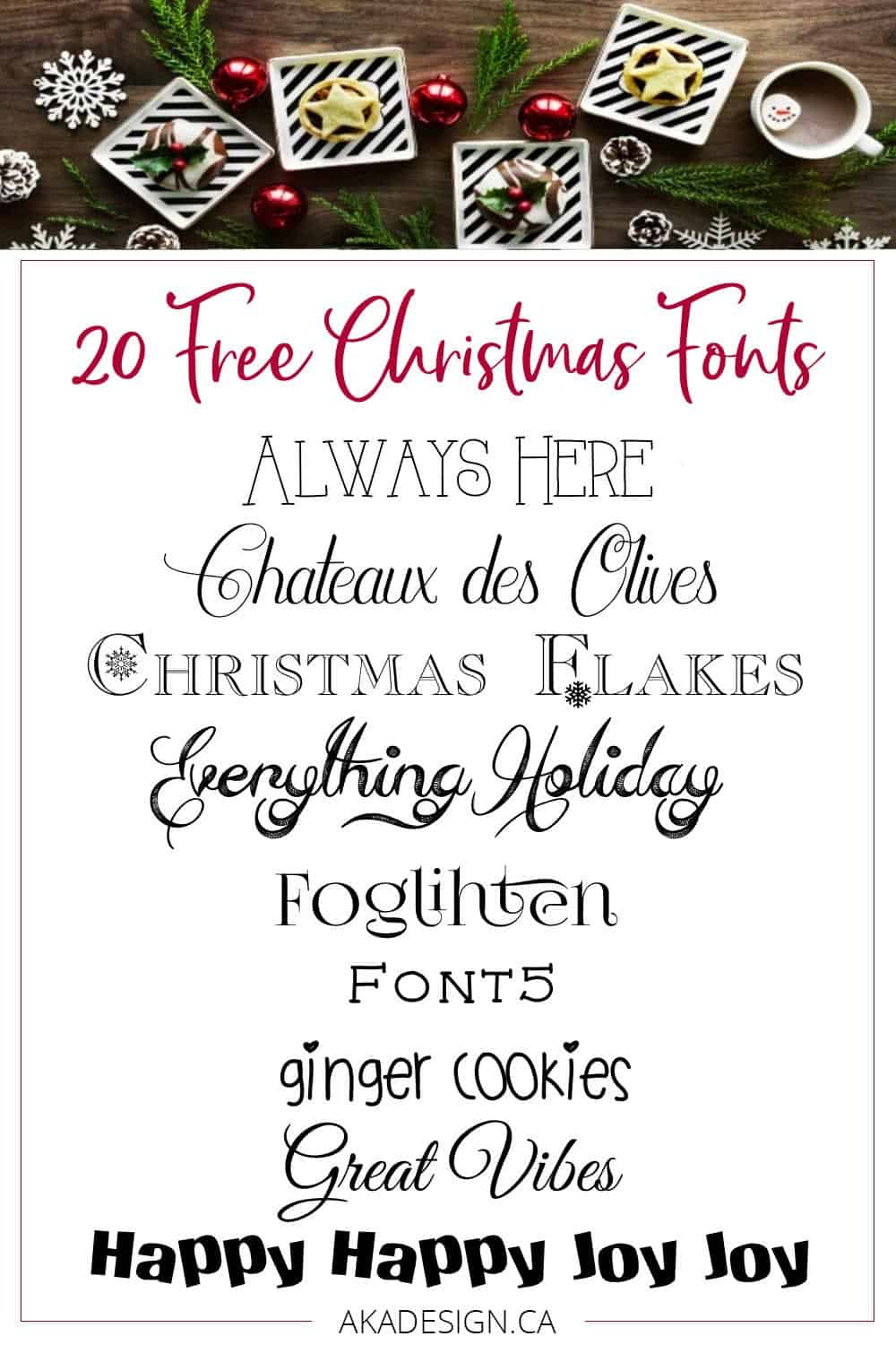 photo regarding Free Printable Fonts known as My Favourite No cost Xmas Fonts - Suitable for Printables
