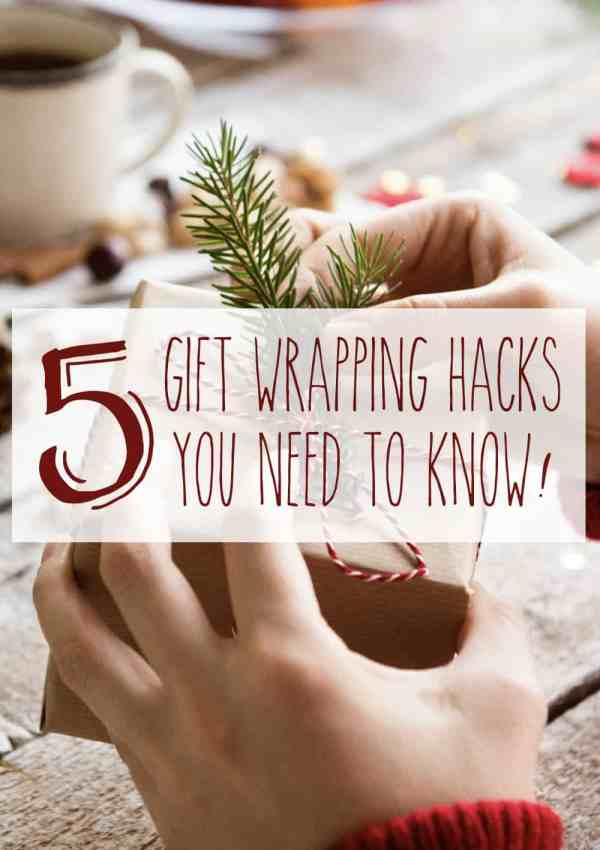 5 Gift Wrapping Hacks You Need to Know for More Enjoyable Gift Giving!