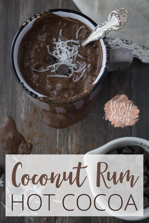 Coconut Rum Hot Cocoa
