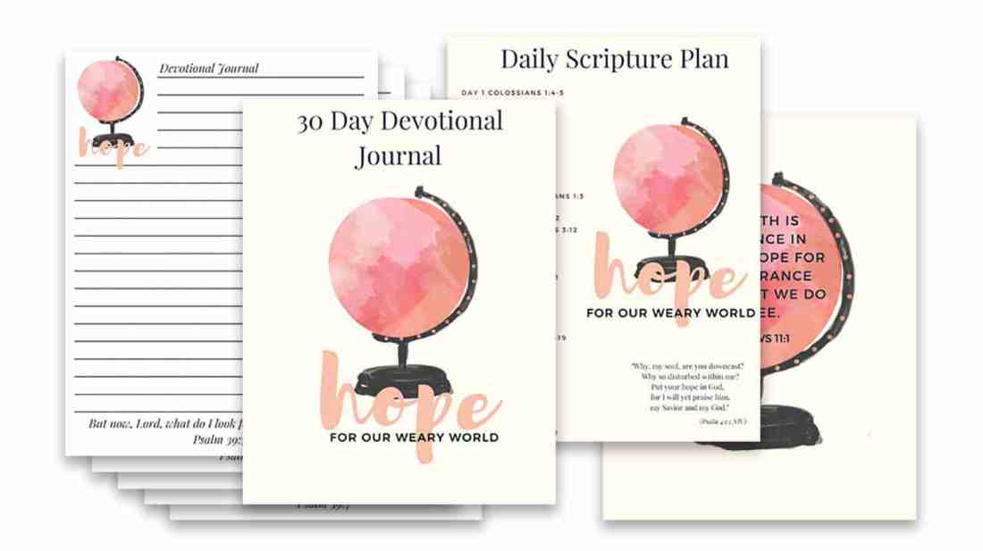 Are you looking for a way to be more intentional with your prayers? Do you want to track your prayer requests? Let's look at how to keep a prayer journal. Plus a free 30-day devotional journal for you!