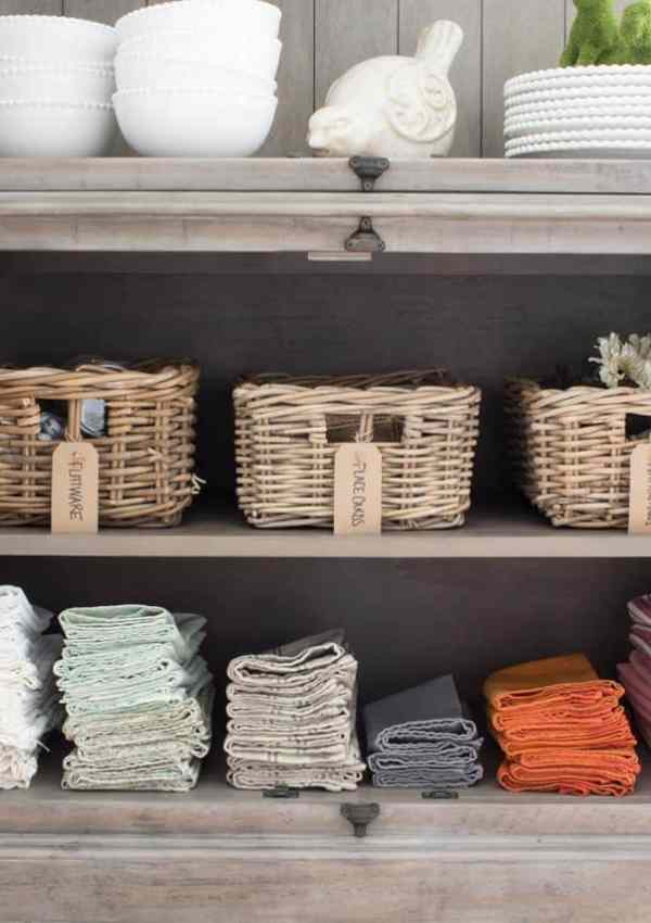 How to Organize a Dining Room Hutch + More of Our Keswick Hutches from The Brick