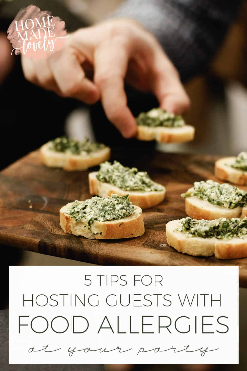 We have several food allergies, intolerances and sensitivities at our house, so we know first-hand about navigating parties.Follow these 5 tips for hosting guests with food allergies at your party, so they can have a great time!