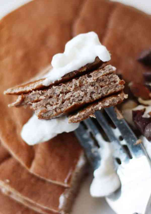 Chocolate Protein Pancakes – Low Carb, High Protein, Tasty Breakfast Option