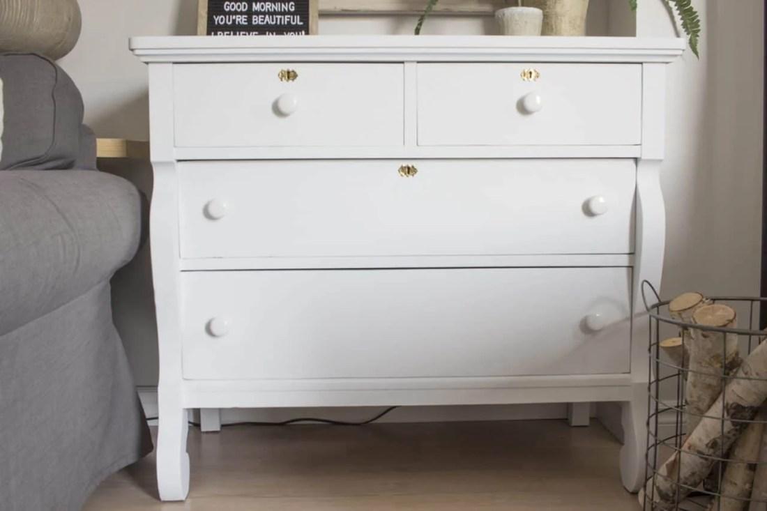 dresser painted