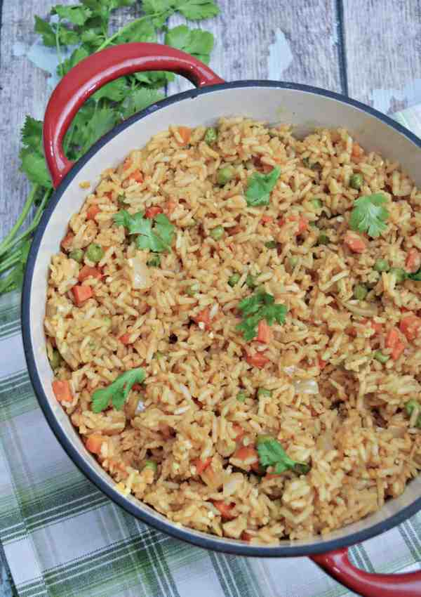 Easy Mexican Rice – The Perfect Side Dish for Taco Tuesday!