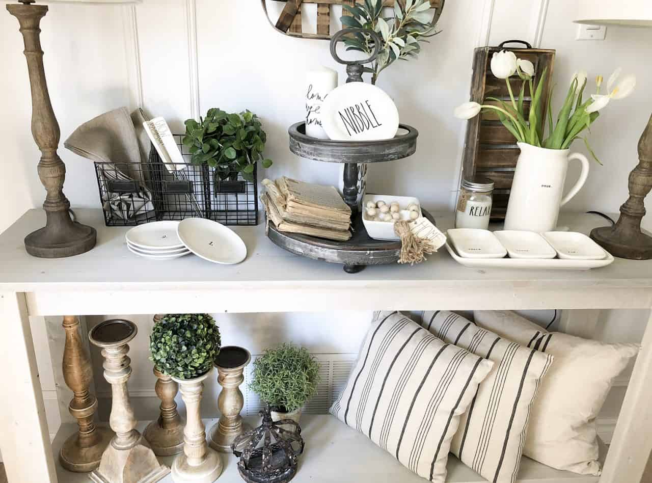 Farmhouse Dining Room Ideas: Summer Vignettes In Our Farmhouse Dining Room