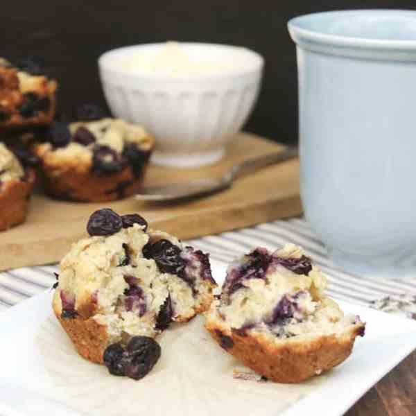 Blueberry Oat Muffins – A Yummy, Healthy Breakfast Muffin Recipe