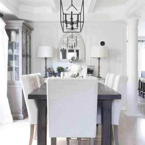 farmhouse style dining room