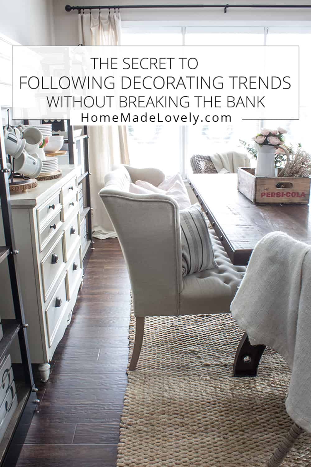 There's a secret I want to tell you. It's rather common sense once you know it. But until then you are likely throwing away $$$ following decorating trends.