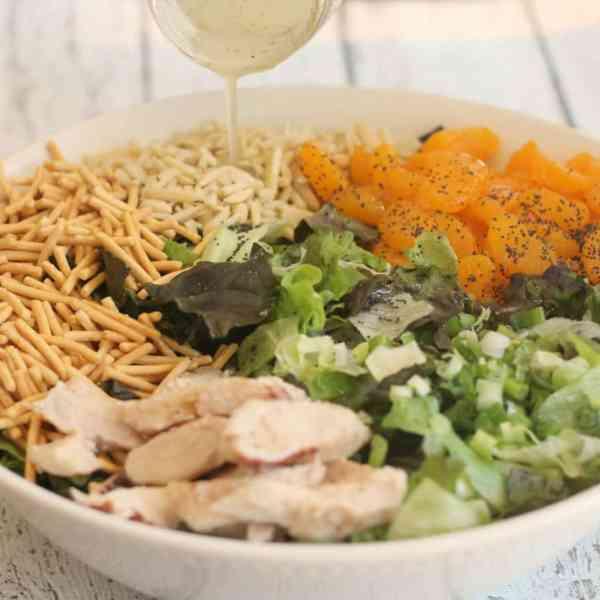 The Best Homemade Mandarin Chicken Salad Recipe You'll Ever Make!