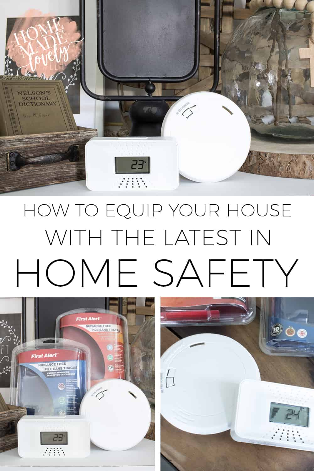 Home safety encompasses all sorts of areas. But two of the most important and often overlooked safety measures are fire and carbon monoxide alarms.Here's how to equip your house with the latest in home safety.