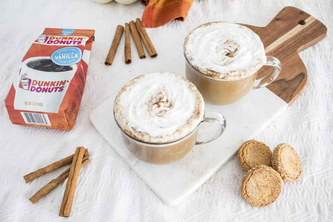 Dunkin' Donuts Homemade Lattes