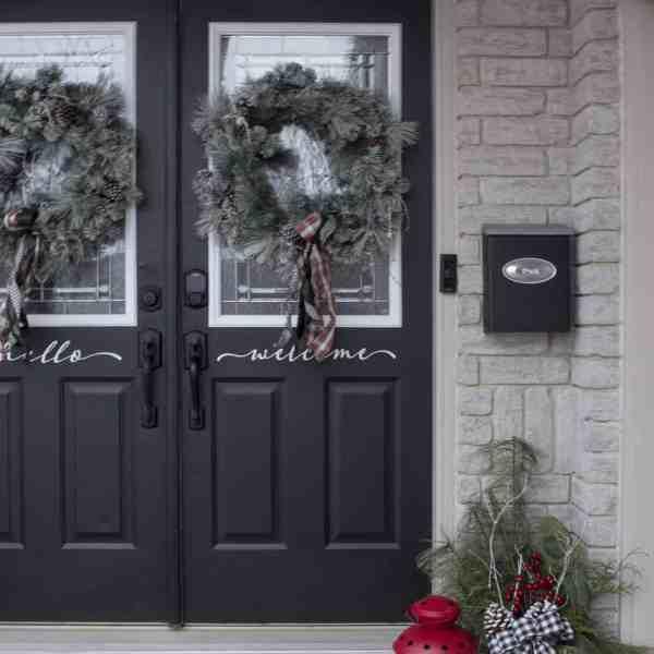 front door side
