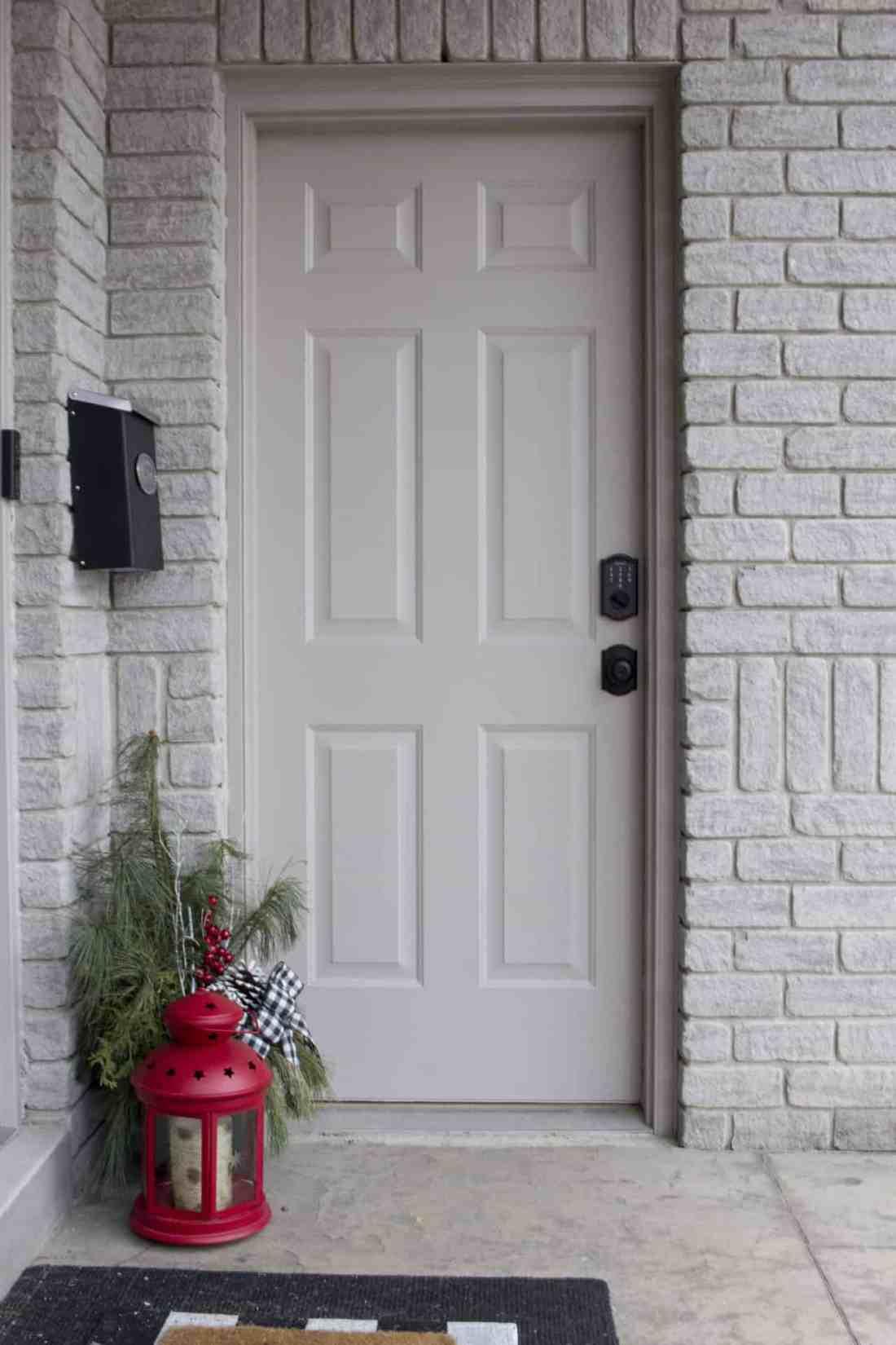 garage man door after new lock