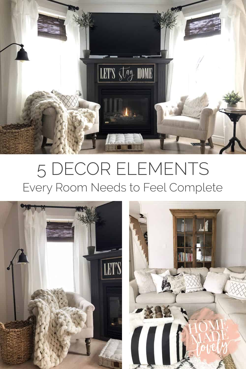 Some decor elements are just so basic that every room could use them. Here are 5 decor elements every room needs to be complete!