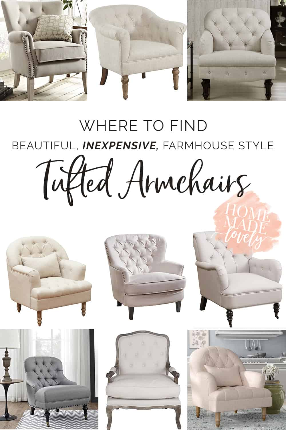 Tufted Armchairs pin