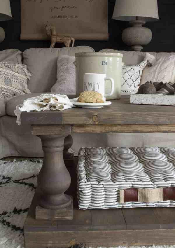DIY Balustrade Coffee Table + Where to Get Balustrades!