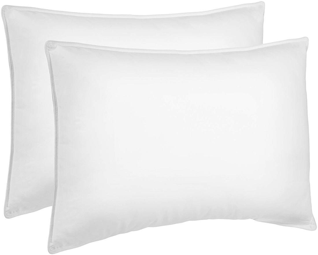 amazon basics down alternative bed pillows