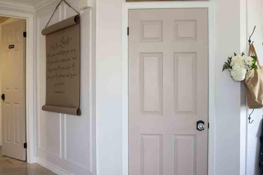 Closet Door and Powder Room Door