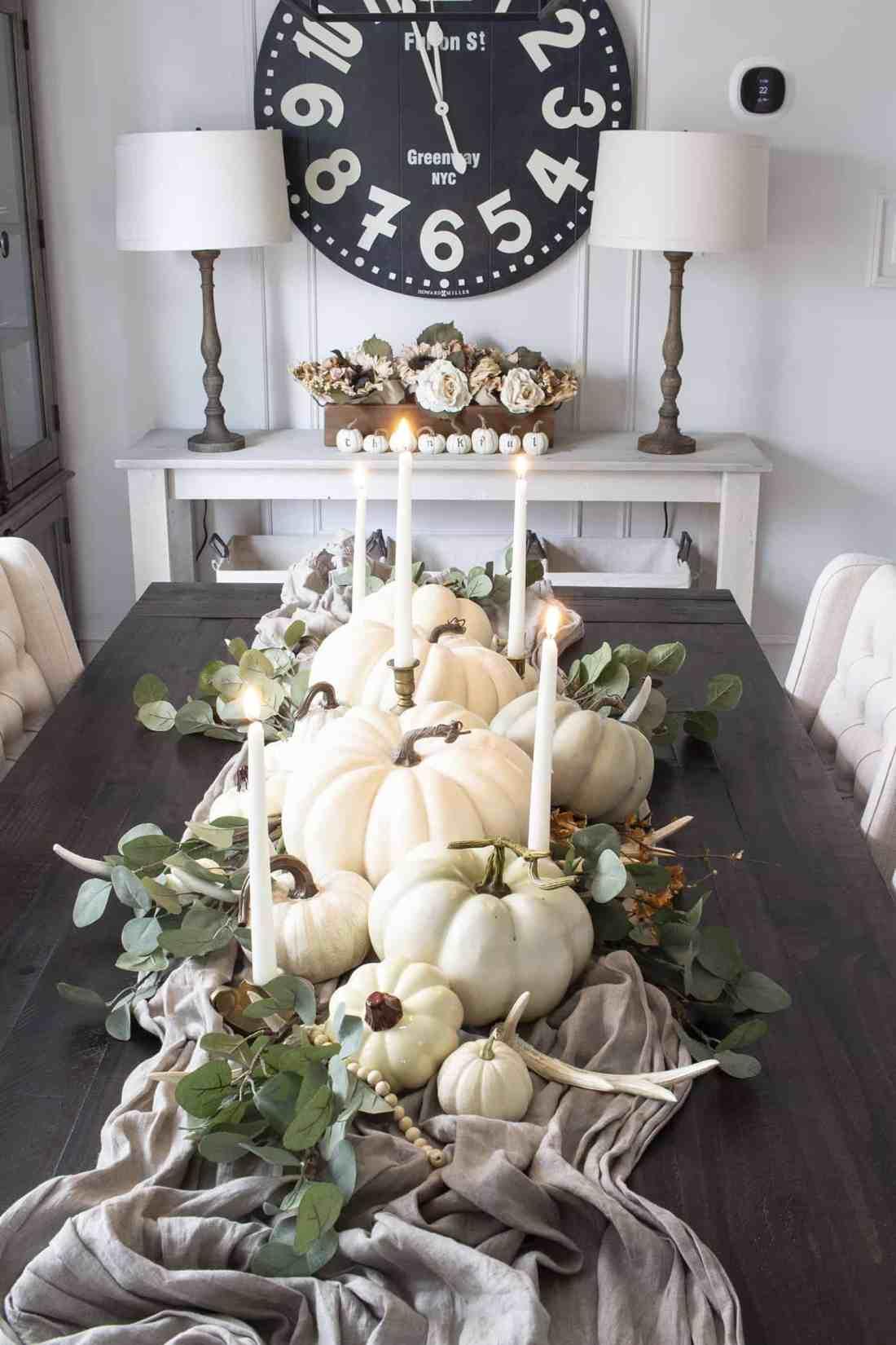 homemadelovely fall 2019 centerpiece