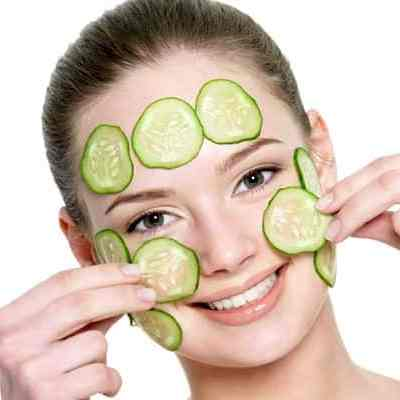 Cucumber, Mint & Egg White Face Mask To Reduce Wrinkles