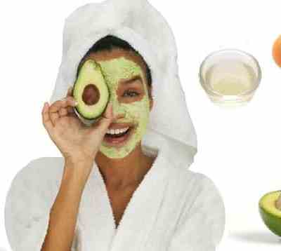 Egg White And Avocado Face Mask For Dry Skin