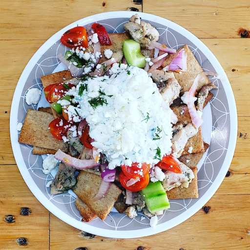 Greek Pita Nachos