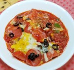 Layered Pizza Casserole