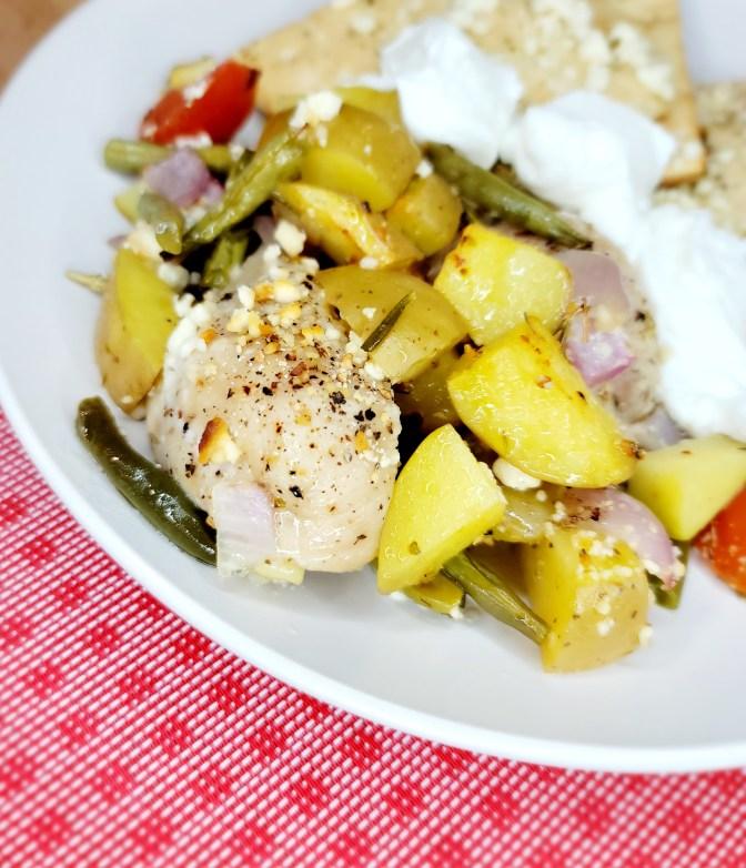 Greek Sheet Pan Chicken