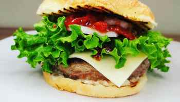 Spicy Tomato Relish Burger