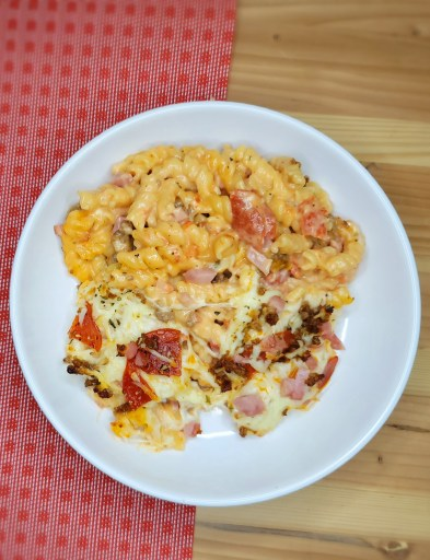 Meat Lover's Mac & Cheese