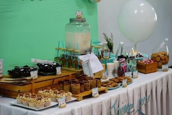 Lucas' Cookies and Milk DIY Party13