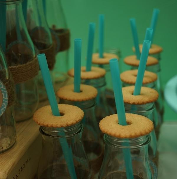 Lucas' Cookies and Milk DIY Party27