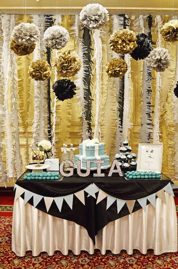 Homemade Parties DIY Breakfast at Tiffany's Birthday Party02