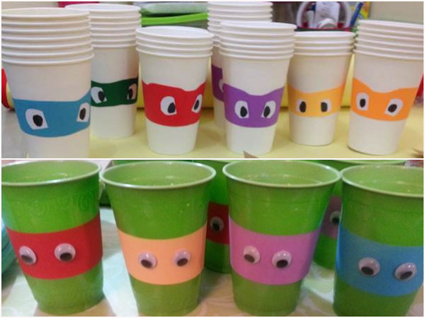 Teenage Mutant Ninja Turtles DIY Party