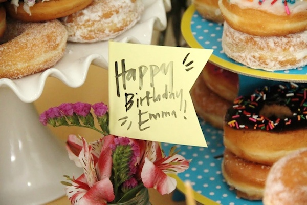 Homemade Parties_DIY Party_Donut Party_Emma17