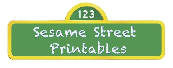 photo about Printable Sesame Street Sign titled Sesame Highway Get together Printables