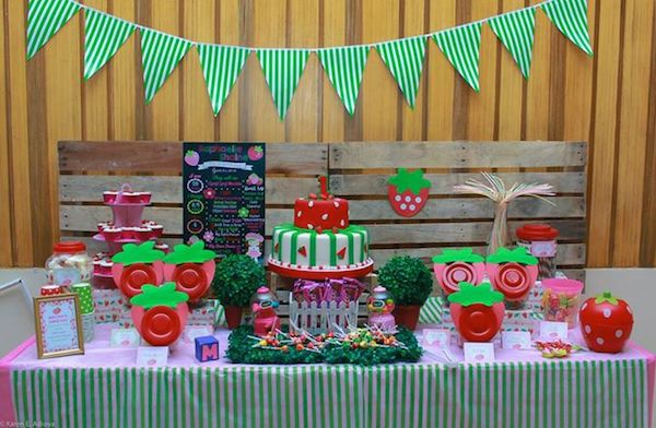 Mochia's Berry 1st Birthday