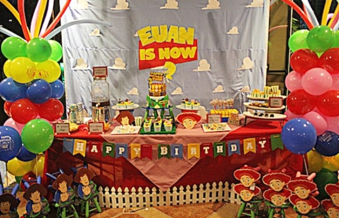Euan's Toy Story Party