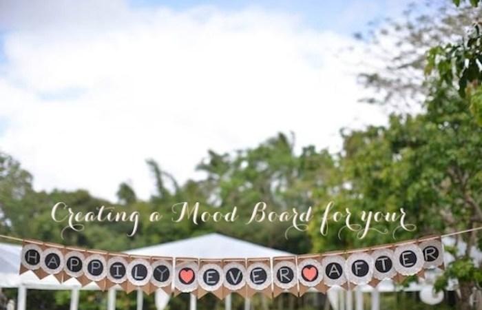 Wedding Wednesdays: Wedding Mood Boards