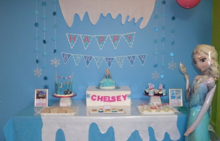 Chelsey's Frozen Party