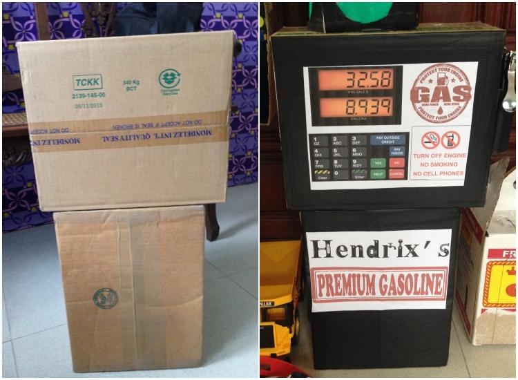 DIY Cardboard Contruction and Mechanics Playset02