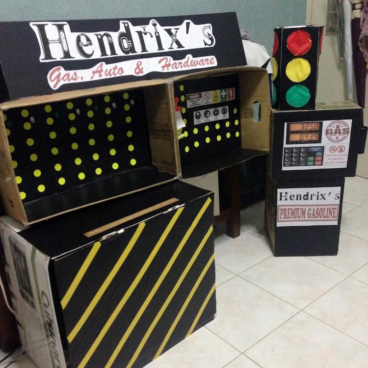 DIY Cardboard Contruction and Mechanics Playset04