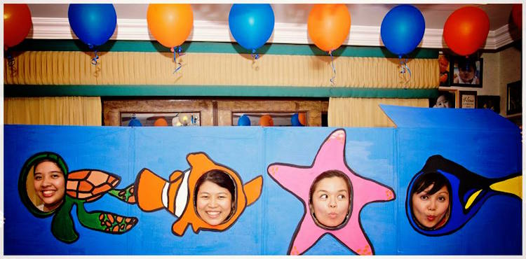 Homemade Parties DIY Finding Nemo Dory _ Russel14