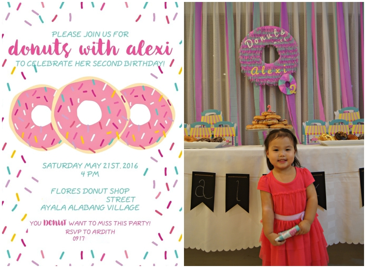 Homemade Parties DIY Party _ Donut Party _ Alexi15