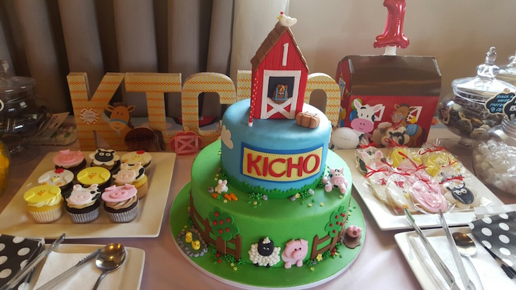 Homemade Parties DIY Party _Farm Party Kicho12