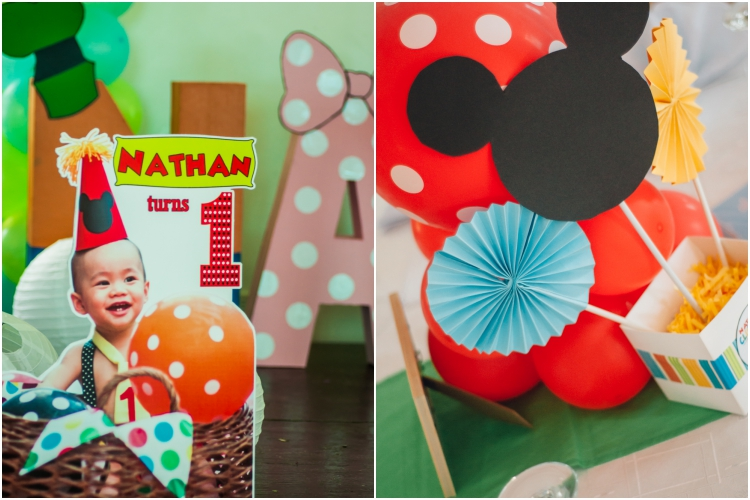 Homemade Parties DIY Party _Mickey Mouse Party Nathan01
