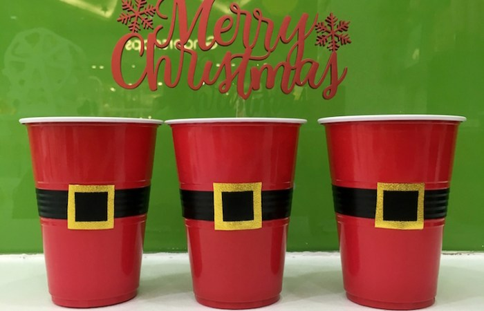 How to Make DIY Santa Cups